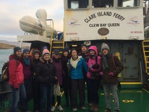 Boat trip to Clare Island