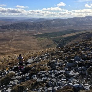 In my element bouncing down Muckish