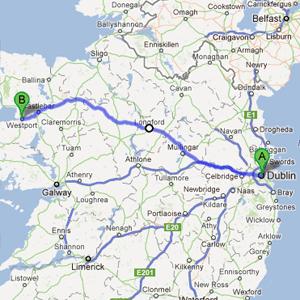 Cycle Ireland Tour with Rachel