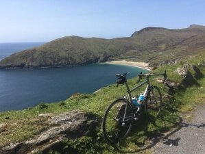 Cycling into the wilderness of Mayo