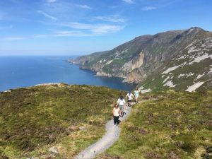 Slieve League Trail Running Co Donegal Ireland