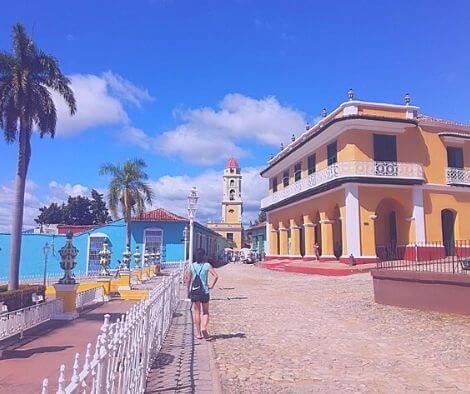 Trinidad Cuba cycling