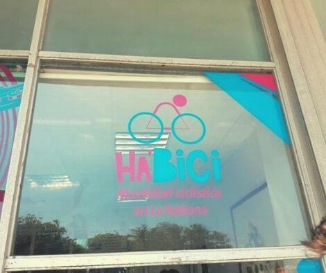 Habici bike sharing in Havana