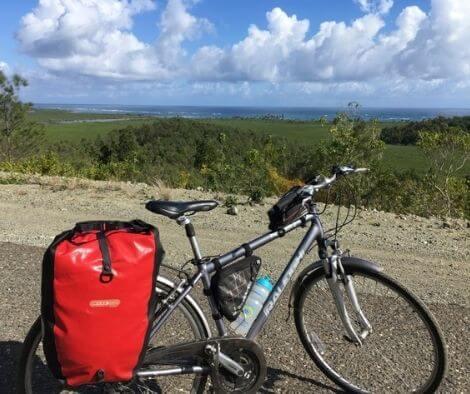 bike packing Cuba the bike setup