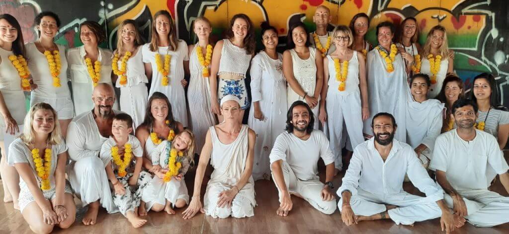 Yoga Teacher Training graduation