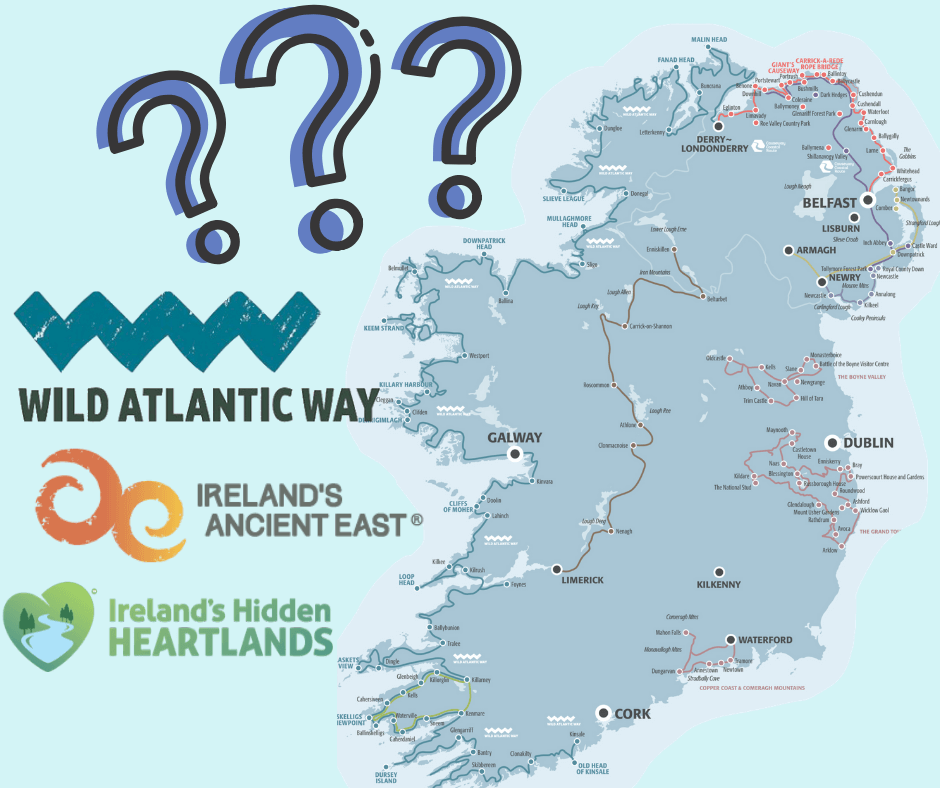 """The question is: """"Where to go in Ireland"""