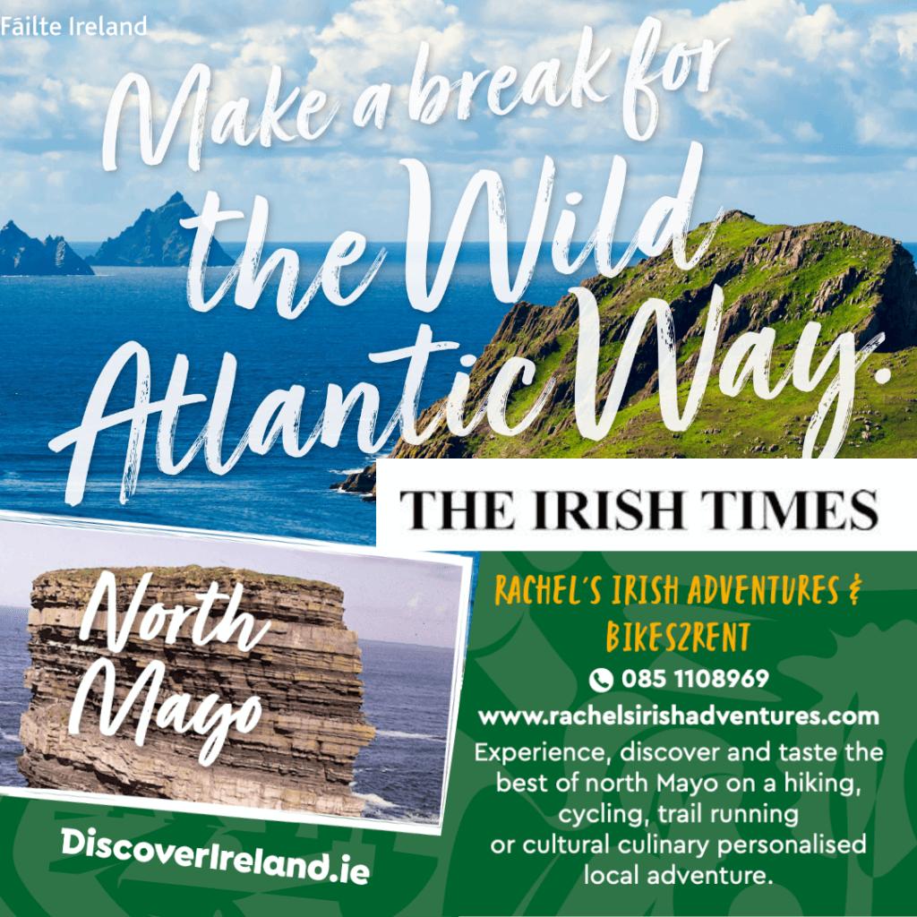 The Irish Times about Rachel's Irish Adventures