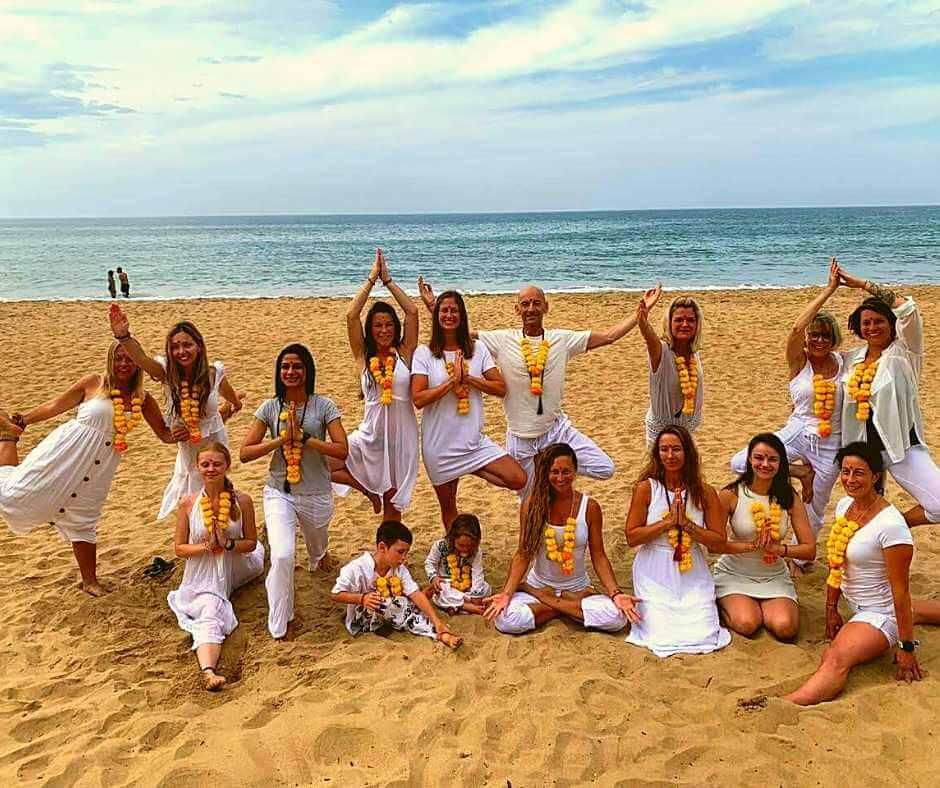 Graduation celebration of our Yoga Teacher Trainings Course in 2019