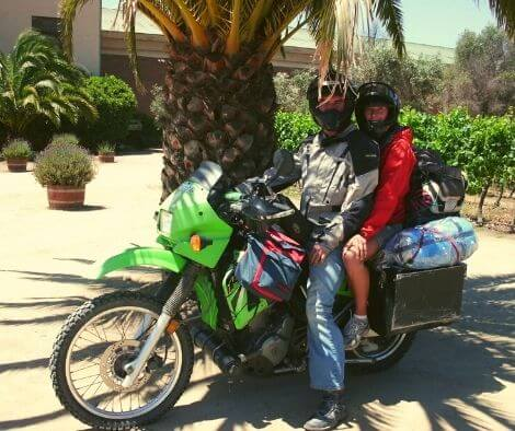 Motorbike South America