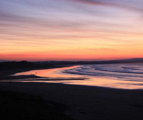 Sunset in Enniscrone