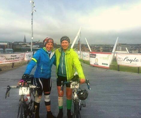 WAWA finishline in Derry