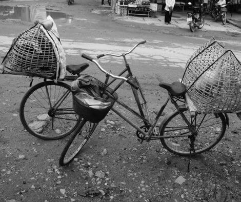 bicycle in Vietnam