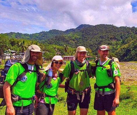 Eco-Challenge Fiji Team Ireland AR