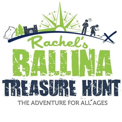 Ballina Treasure Hunt Belleek woods logo 48kb