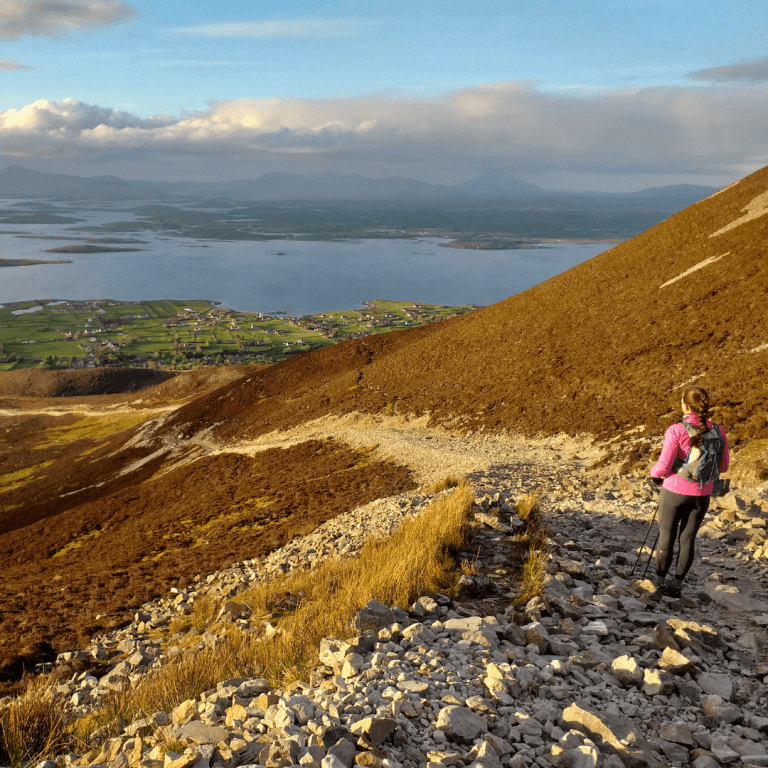 Ireland's holy mountain Croagh Patrick