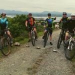 Everesting off road on a mountain bike