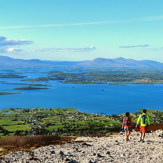 Walking Tours and Hiking when visiting Ireland